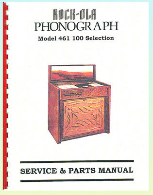 Rock-Ola 461 Jukebox Service & Parts Manual