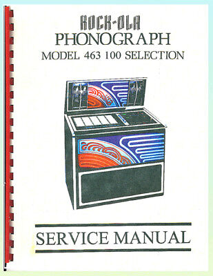 Rock-Ola 463 Jukebox Service & Troubleshooting Manual