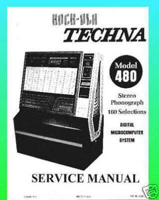 Rock-Ola 480 Techna Jukebox Service  Manual