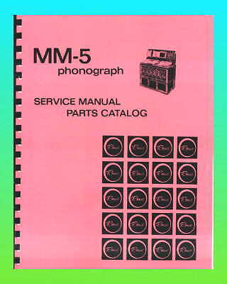 Rowe Ami MM5 Jukebox Service Manual