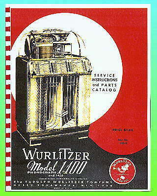 Wurlitzer 1400 & 1450 Service Manual