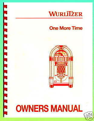 Wurlitzer One More Time 45's Service Manual