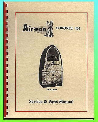 Aireon Coronet 400 Jukebox Service Manual