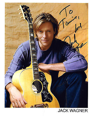 Jack Wagner signed 8x10 promo photo / autograph