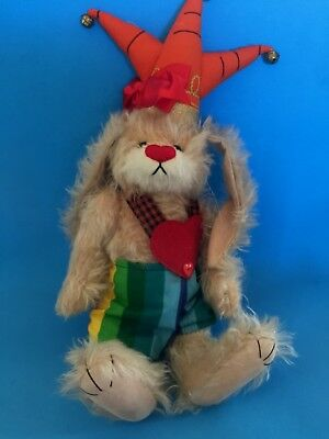 "Deb Canham Artist Designs Bigger Bears ""carrot Top"" Bunny"