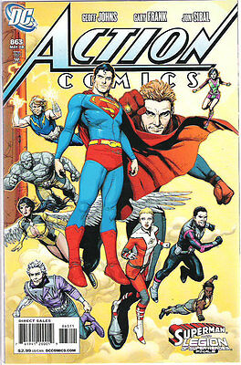 Action Comics #863 (NM)`08 Johns/ Frank