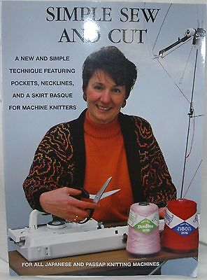 Simple Sew & Cut for Use with ALL Knitting Machines Brother Passap etc -  M800