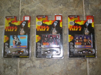 Kiss Johnny Lightning Die Cast Car Lot (On Cards) - #4