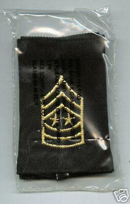 Sergeant Major Of The Army Obsolete Shoulder Boards