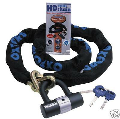 Oxford Hd Motorcycle Security Chain And Disc Lock 1.5M