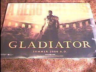 Gladiator Br Quad Movie Poster Ds Russell Crowe