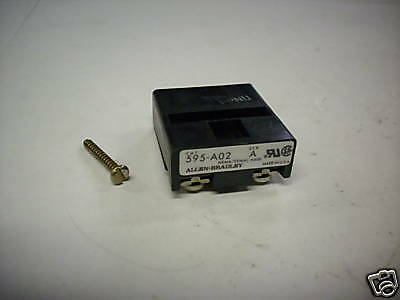 Allen Bradley 595-A02 Contact Kit For O.l. Relay New Condition In Box