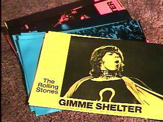 Gimme Shelter Lobby Card Set Of 12 Rolling Stones '70