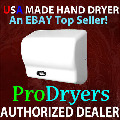 NEW GX1 Automatic Electric Hand Dryer 120V White ABS
