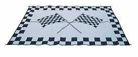 NEW 9' x 12' Racing Patio Mat for RV / Camper / Trailer