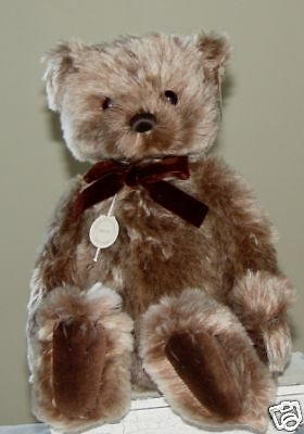"Gund ""maxwell"" Lim Ed Mohair Collection"