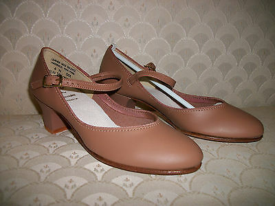 Capezio Character Shoes Dance 550 Jr Footlight New In Box