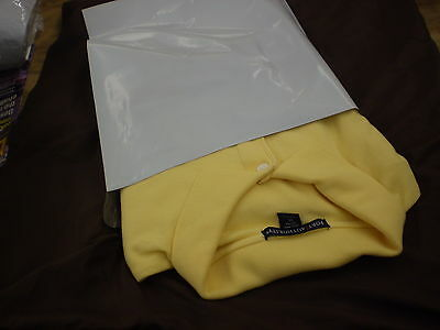 100  WHITE POLY MAILERS SHIPPING 50 EACH 9X12 & 10X13