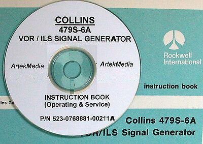 Rockwell Collins 479S-6A Operating & Service Manual