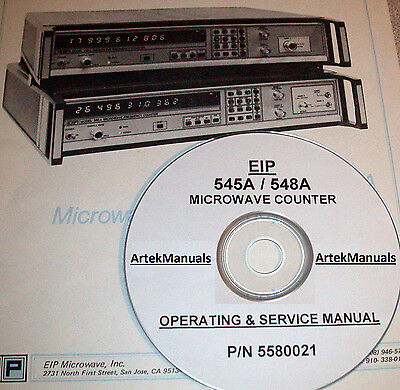 Eip 545A 548A Operating And Service Manual