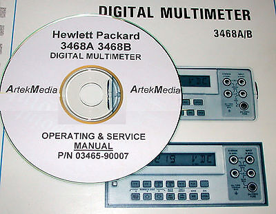 Hp  3468A 3468B Operating &  Service Manual