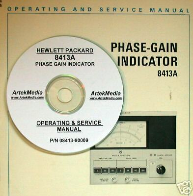 Hp 8413a Phase Gain Indicator Electrical Analyzer Analyzers & Data Acquisition Business & Industrial