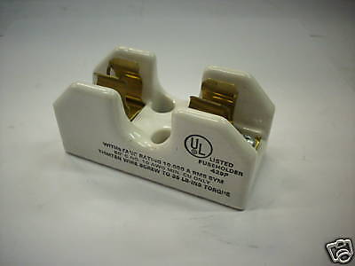 Gould 20307 Fuse Block 250 Vac 30 Amp 2 Pole New 6 65