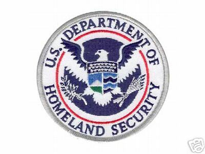 Office  Homeland Security Police Decal