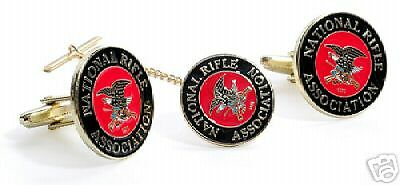 Nra Tie Clip And Cuff Link Cufflinks Boxed Set