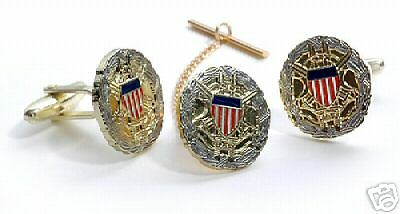 Joint Chiefs Of  Staff Tie Clip And Cufflinks Boxed Set