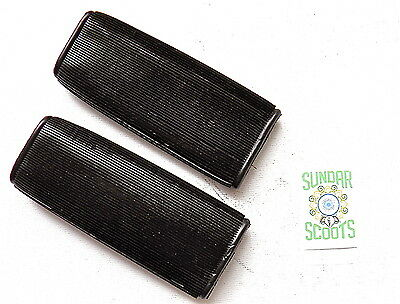 Rubber Handlebar Grip Covers.suitable For Lambretta,vespa & Other Scooters