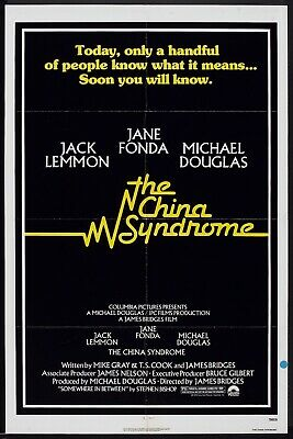 CHINA SYNDROME - 27x41 Original Movie Poster One Sheet