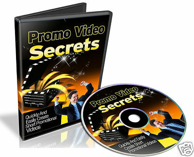 Quickly Create Promotional Videos Tutorials on CD