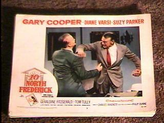 Ten North Frederick '58 Lobby Card #5 Gary Cooper