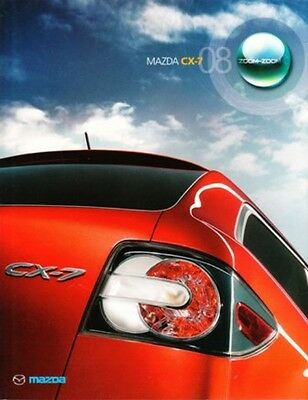2008 08 Mazda CX7 original sales brochure MINT