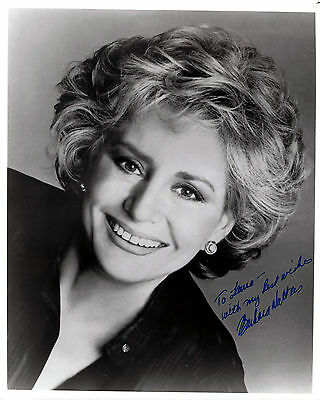 Barbara Walters signed vintage 8x10 publicity photo / autograph