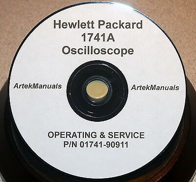 Hp 1741A Operating And Service  Manual