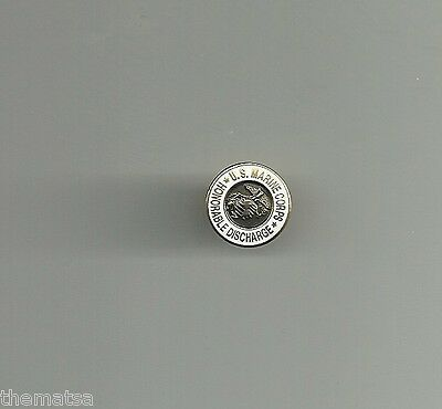 Usmc Marine Corps Honorable Discharge Lapel Pin