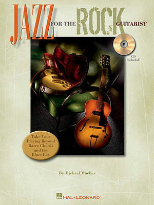 Jazz For The Rock Guitarist Tab Book Cd NEW!