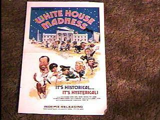 White House Madness Pressbook Complete
