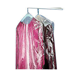 "Dry Cleaning Poly Garment Bags 72"" Clear- 300 bags/roll"