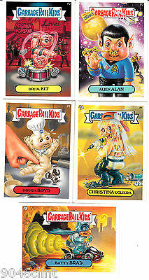 Garbage Pail Kids Promo Set 5 Cards Ans 3 4 5 6 7 Star Trek Batman Doughboy Gpk