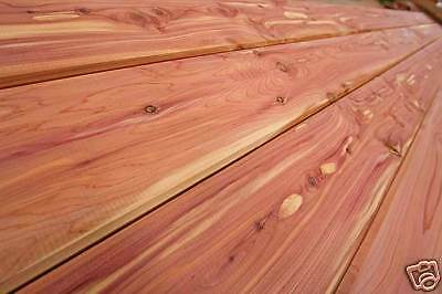 2x6 Native Red Cedar Loft Flooring/Ceiling (T&G) -WE SHIP FREE SAMPLES