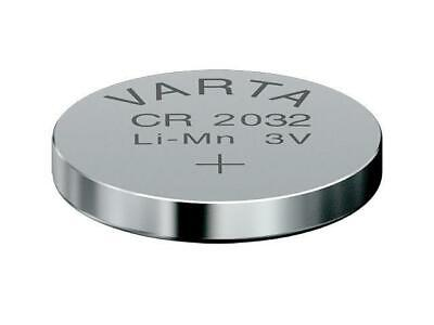 2 x CR2032 Lithium Knopfzelle 3V CR 2032 original VARTA lose Industrie-Ware