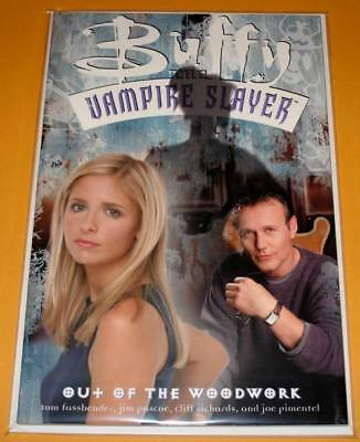 BUFFY The VAMPIRE SLAYER : OUT OF THE WOODWORK Graphic Novel 2002  NM