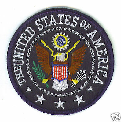 United States of America Eagle Patch NEW shirt hat cap