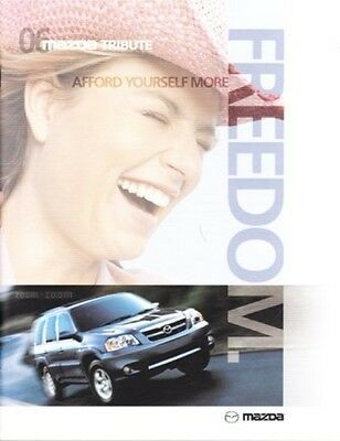 2006 06 Mazda Tribute original sales brochure mint