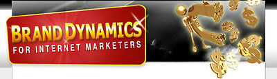 Brand Dynamics For Internet Marketers Audio/Video on 1 CD