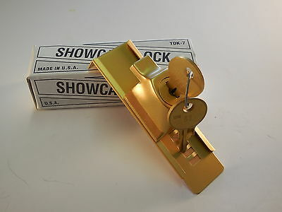 Showcase Lock Stick -On Gold Tdk-7 Usa