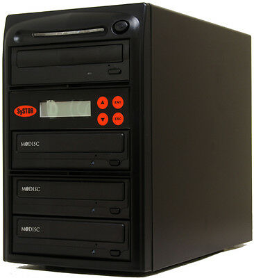 3 Burner Mdisc DVD CD Duplicator Copier Copy System Tower